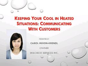 Keeping Your Cool in Heated Situations | Movies and Videos | Educational