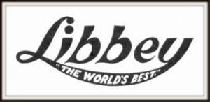 libbey glass magazine ads package