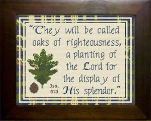 First Additional product image for - Oaks of Righteousness
