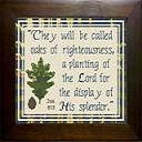 Oaks of Righteousness | Crafting | Cross-Stitch | Other