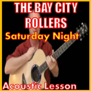 Learn to play Saturday Night by The Bay City Rollers | Movies and Videos | Educational