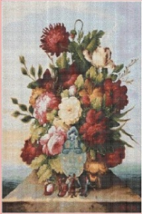 Kytice (The bouquet)   Crafting   Cross-Stitch   Wall Hangings