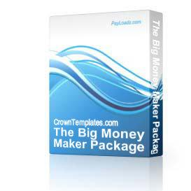 The Big Money Maker Package | Audio Books | Business and Money