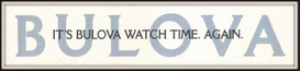 bulova watches magazine ads package