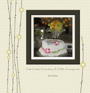 cake,cookie decorations & edible arrangements