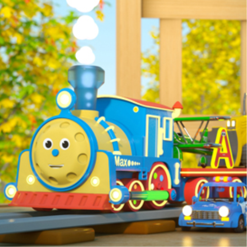 First Additional product image for - Learn Letters With Max the Glow Train – TOYS (Letters and Toys)