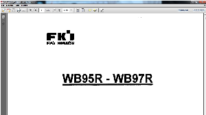 Fai Komatsu WB95R WB97R Backhoe-Loader Service Repair Workshop Manual Download | Documents and Forms | Building and Construction