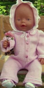 DollKnittingPatterns - 0003D ELISE - Dress, skaut og sokker -(Norsk) | Crafting | Knitting | Other