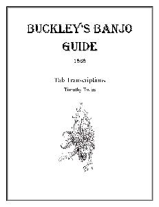 buckley's banjo guide 1868 tab transcriptions
