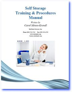 Self Storage Training & Procedures Manual | Documents and Forms | Manuals