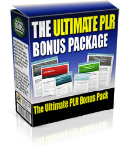the ultimate plr bonus package