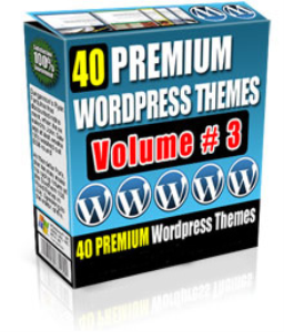 40 premium wordpress themes volume #3