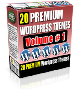 20 premium wordpress themes volume #1