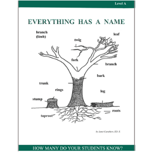 Everything has A Name - Level A Activity Pack | eBooks | Education