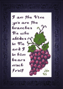 Abides in Me | Crafting | Cross-Stitch | Other