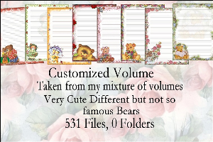 printable stationery designs: custom stationery selection volume
