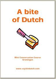 a bite of dutch our mini conversation course in pdf