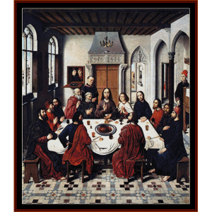 The Last Supper I - Religious cross stitch pattern by Cross Stitch Collectibles | Crafting | Cross-Stitch | Other