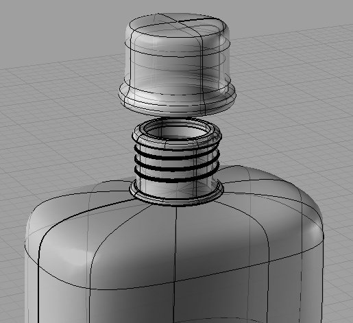First Additional product image for - Water Bottle 3D Model
