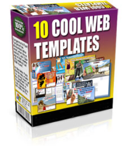 10 cool web templates