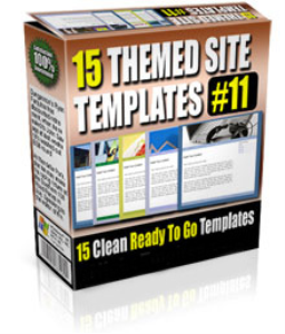 15 themed site templates volume #11