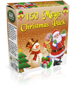 150 megs christmas pack