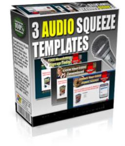 audio squeeze templates