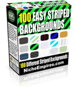 easy striped backgrounds