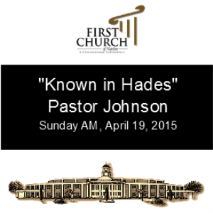 Known in Hades (Pastor Johnson) | Other Files | Everything Else