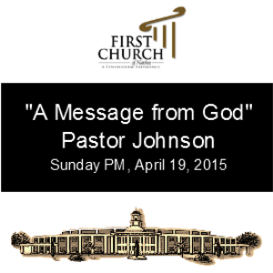 A Message From God (Pastor Johnson) | Other Files | Everything Else