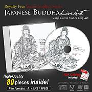 Buddha Line Art Collection | Other Files | Graphics