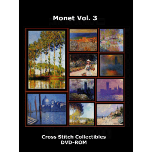Monet Vol 3 DVD by Cross Stitch Collectibles | Crafting | Cross-Stitch | Wall Hangings