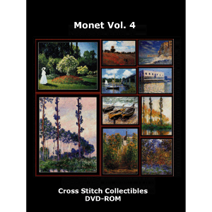 Monet Vol. 4 DVD by Cross Stitch Collectibles | Crafting | Cross-Stitch | Wall Hangings