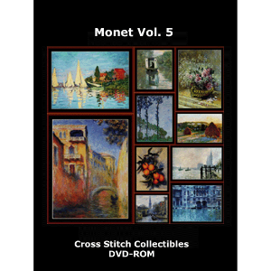 Monet Vol. 5 DVD by Cross Stitch Collectible | Crafting | Cross-Stitch | Wall Hangings