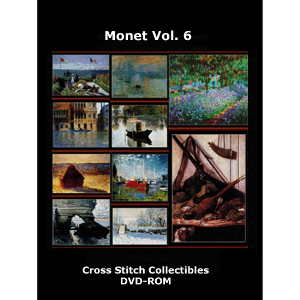 Monet Vol 6 DVD by Cross Stitch Collectibles | Crafting | Cross-Stitch | Wall Hangings