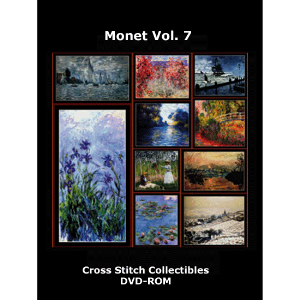 Monet Vol 7 DVD by Cross Stitch Collectibles | Crafting | Cross-Stitch | Wall Hangings