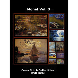 Monet Vol. 8 DVD by Cross Stitch Collectibles | Crafting | Cross-Stitch | Wall Hangings