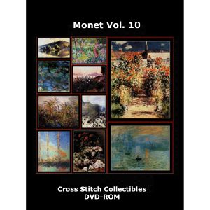 Monet Vol 10 DVD by Cross Stitch Collectibles | Crafting | Cross-Stitch | Wall Hangings