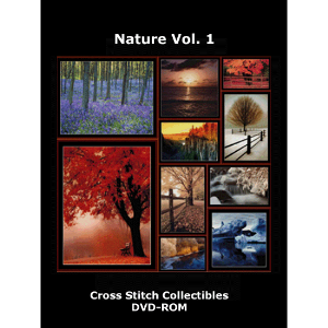 Nature Vol 1 DVD by Cross Stitch Collectibles | Crafting | Cross-Stitch | Wall Hangings