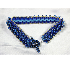 blue mountains bracelet pattern