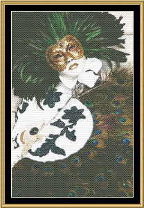 Mardi Gras Collection - Costume Of Carnaval | Crafting | Cross-Stitch | Other
