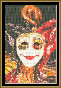 Mardi Gras Collection - Masks Of Carnaval I | Crafting | Cross-Stitch | Other