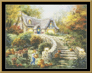 Country Harvest | Crafting | Cross-Stitch | Wall Hangings