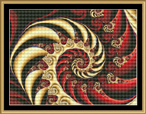 Fractal Mania | Crafting | Cross-Stitch | Miscellaneous