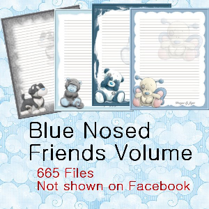 Blue Nosed Friends Volume | Photos and Images | Digital Art