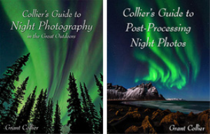 collier's guide to night photography (ebook) & collier's guide to post-processing night photos (video)