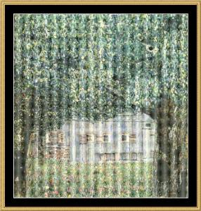 Farm House In Upper Austria - Klimt | Crafting | Cross-Stitch | Wall Hangings