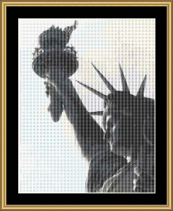 Statue Of Liberty | Crafting | Cross-Stitch | Wall Hangings