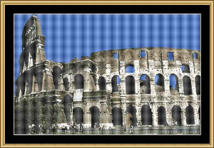 Collosseum | Crafting | Cross-Stitch | Wall Hangings
