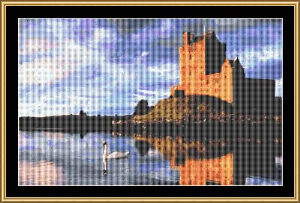 Dunguaire Castle | Crafting | Cross-Stitch | Wall Hangings
